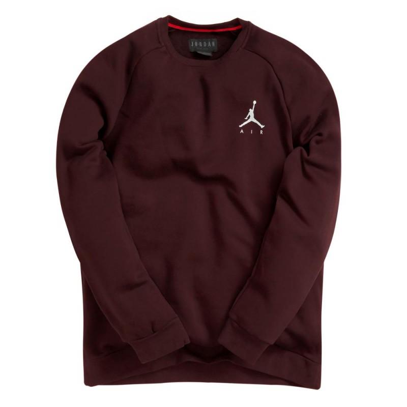 b8f5325272ae 940170-652_Sweat Jordan Sportswear Jumpman Fleece Rouge bordeaux pour homme