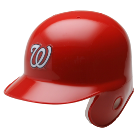 Mini Casque de baseball Replica MLB Riddell Washington Nationals rouge