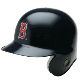 Mini Casque de baseball Replica MLB Riddell Red Sox Bleu marine