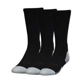 1312341-001_Chaussettes de sport Under Armour Heatgear Tech Crew Noir