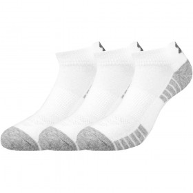 1312430-100_Chaussettes de sport Under Armour Heatgear Tech Low blanc