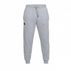 1320740-036_Pantalon Under Armour Rival Fleece Gris pour Homme