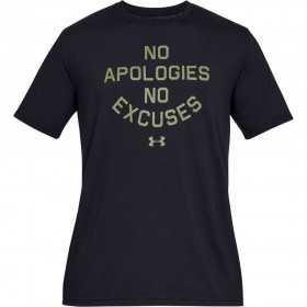 T-shirt Under Armour MFO No Apologies Noir pour Homme