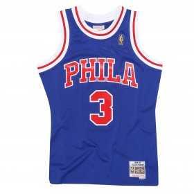 Maillot NBA Allen Iverson Philadelphie Sixers 1996-97 Mitchell & ness Hardwood Classic swingman Bleu