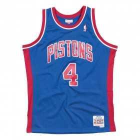 BA84UI-DPI-B-CAF_Maillot NBA Joe dumars Detroit Pistons 1988-89 Mitchell & ness Hardwood Classics Bleu