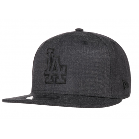 11794768_Casquette de baseball MLB Los Angeles Dodgers New Era Heather Essential snapback 9fifty Gris