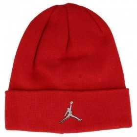 Gorro para nino Jordan cuffed rojo