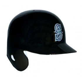 Mini Casque de baseball Replica MLB Riddell Seattle Mariners Noir