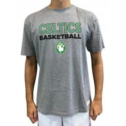 T-Shirt NBA Boston Celtics Mitchell & ness Pure Shooter Gris pour Homme