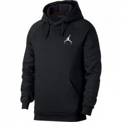940108-652_sweat à capuche Jordan Jumpman Fleece PO Rouge Bordeaux pour homme