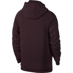 sweat à capuche Jordan Jumpman Fleece PO Rouge Bordeaux pour homme