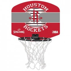 Spalding Mini panier Houston RocketsRouge