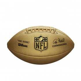 WTF1826_Football Américain Wilson NFL the duke Gold replica game ball