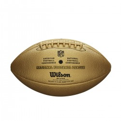 Ballon de Football Américain Wilson NFL the duke Gold replica game ball