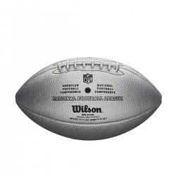 Ballon Football Américain Wilson NFL the duke Silver replica game ball