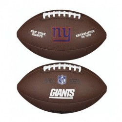 Ballon Football Américain NFL New York Giants Wilson Licenced