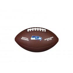 WTF1748XBSE_Ballon Football Américain NFL Seattle Seahawks Wilson Licenced