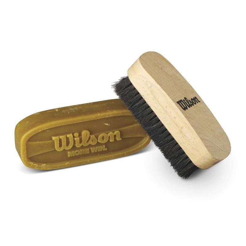 WTF992700_Kit de préparation du cuir pour Ballon Football Américain Wilson