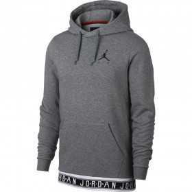 AR2252-091_Sweat à capuche Jordan Jumpman Air HBR Carbon Gris pour homme