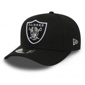 11871278_Casquette NFL Oakland Raiders New Era Stretch Snapback 9Fifty Noir