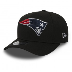11871280_Casquette NFL New England Patriots New Era Stretch Snapback 9Fifty Noir