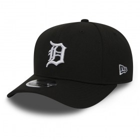 11871282_Casquette MLB Detroit Tigers New Era Stretch Snapback 9Fifty Noir