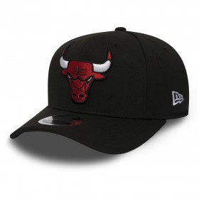11871284_Casquette NBA Chicago Bulls New Era Stretch Snapback 9Fifty Noir