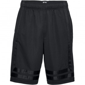 "1305729-001_Short de Basketball Under Armour Baseline Noir 10"" pour homme"