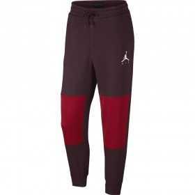 AA1447-652_Pantalon Jordan Jumpman Sportwear Hybrid Rouge Bordeaux pour homme