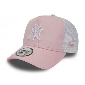 11871473_Casquette MLB New York Yankees New Era League Essential Trucker 2 Rose
