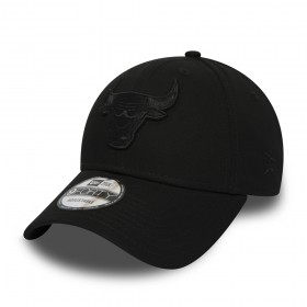 11871669_Casquette NBA Chicago Bulls New Era 9Forty Snapback Noir