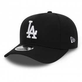 11876580_Casquette MLB Los Angeles Dodgers New Era Stretch Snapback 9Fifty Noir