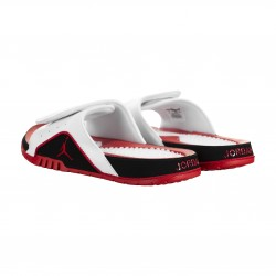 Sandales Jordan Hydro 4 Retro IV blanc Fire red