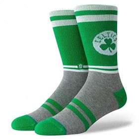 M558C18BOS_Chaussettes NBA Boston Celtics Stance Arena City Gym Vert