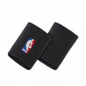 NKN03001OS_Poignet éponge NBA Nike LogoMan Noir