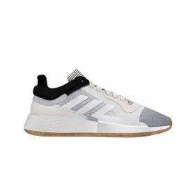 D96933_Chaussure de Basketball adidas Marquee Boost Low Blanc pour Homme