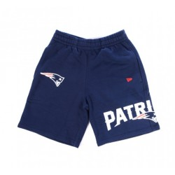 11859968_Short NFL New England Patriots New Era Wrap Around Bleu Marine pour homme