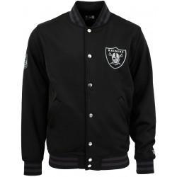11859976_Veste NFL Oakland Raiders New Era Varsity Jacket Noir pour homme