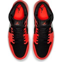 Chaussure Air Jordan 1 Mid Orange pour homme
