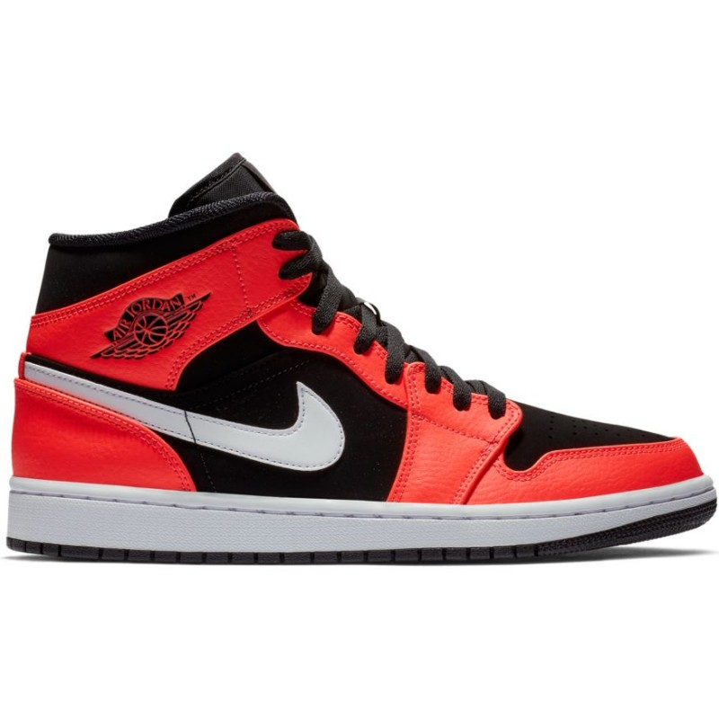 air jordan orange et noir homme