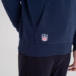 Sweat à Capuche NFL New England Patriots New Era Team logo Hoody Bleu marine pour Homme