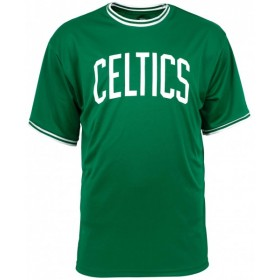 11860068_T-Shirt NBA Boston Celtics New Era Tipping Wordmark Vert pour Homme