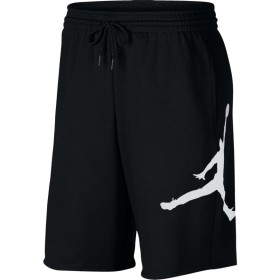 AQ3115-010_Short en cotton Jordan Jumpman Air Fleece Noir pour homme