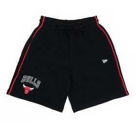 11860091_Short NBA Chicago Bulls New Era Stripe Piping Noir pour homme