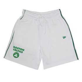 11860092_Short NBA Boston Celtics New Era Stripe Piping Blanc pour homme