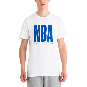 11860109_T-Shirt NBA New Era League Logo Blanc pour Homme