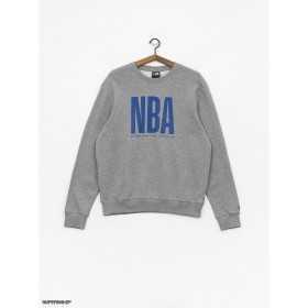 11860114_Sweat NBA New Era League Logo Crew Gris pour Homme