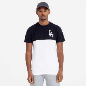 11860155_T-Shirt MLB Los Angeles Dodgers New Era Colour Block Noir pour Homme