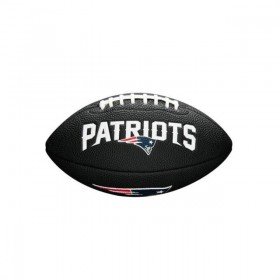WTF1533BLXBNE_Mini ballon de Football Américain Wilson Soft touch NFL team logo New England Patriots