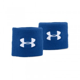 "1276991-400_Bandeaux poignet Under Armour performance wristband 3"" Bleu"